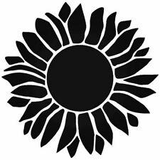 Sunflower Wall Stencil