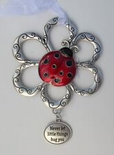 m Never let things bug you Loving Little Ladybugs Ornament ladybug ganz