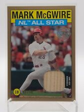 2021 Topps Mark McGwire 1986 Insert Relic GOLD #/50