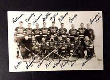 1932 New York Americans Real Photo Postcard Nhl Hockey Roy Worters Vintage Rppc