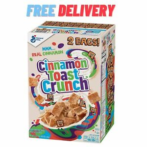 Cinnamon Toast Crunch Cereal (49.5 oz., 2 pk.) - FREE SHIPPING
