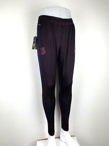 NEW Nike Barcelona F.C Vaporknit Knitted Football Pants Size Small