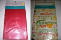 Tablecloth party disposable 48 x 72 Latina salsa lime hot vinyl words, RED   C17