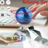 Desktop Decompression Rotating Spherical Gyroscope Kinetic Desk Toy Fit Adult