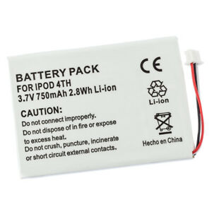 Battery & Pry Tools for Apple iPod 4th Gen A1099 616-0206 616-0183 20GB 40GB 60G
