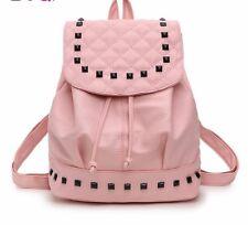 Backpack For Women Girls Washed PU Leather Female Mini Bookbags Summer Handbags