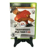 Tiger Woods PGA Tour 06 Microsoft Xbox Original Complete Game Case Manual