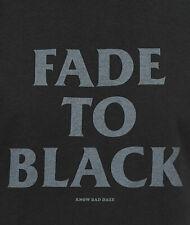 NO BAD DAZE Fade To Black Fade To Black Mens Xl shirt NWT Metallica Horror