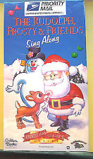 The Rudolph Frosty and Friends Sing Along VHS 1996 Movie B1