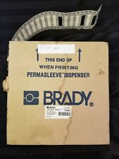 Brady Y20885 Permasleeve Wire Markers. 3PS-250-2W-2. Partial Roll Of 5000