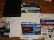 Original 2002 BMW 5 Series Owners Operators Manual 02 525i 530i 540i