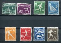 Netherlands 1928 Mi 205-212 MH Olympic Games Amsterdam CV 200 euro