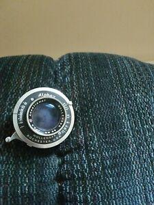85mm F/3.5 Wollensak  lens in Alphax shutter