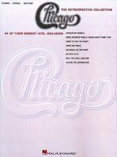 Chicago The Retrospective Collection Sheet Music Piano Vocal Guitar 000306124