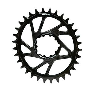 UNITE Sram direct mount Oval Chain ring UK made thickthin Eagle chainring