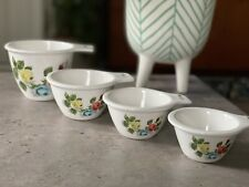 More details for cath kidston painterly rose set of 4 x measuring cups  - displayed only - rare