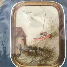Cathy Heritage Series BEACHED BOAT 2919 Vintage Embroidery Kit