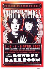 White Stripes | Bowery Ballroom | Art by Dennis Loren - Orig. 2002 Poster