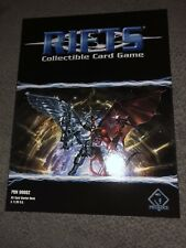 Precedence Pub Rifts CCG Starter Deck Just Out Of Case. Unbelievable Condition.