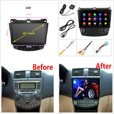 "For Honda Accord 03-07 10.1"" Android9.1 Quad-core Radio 2GB+32GB Wifi GPS Player"