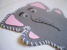 1x Pack of Animal Hand Puppet, Felt Art, Kid DIY Craft