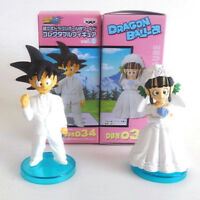 Anime Dragon Ball Z Son Goku ChiChi PVC Figure Toys Wedding Cake Topper Dolls