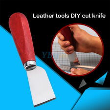 Skiving Knife Pro Leather Craft Tools Cutting Edge Knife for Cutter Punch z