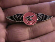 HONDA WINGS MOTORCYCLE BIKER PIN BADGE MOTORBIKE OWNER CLUB CLASSIC RACE RACING