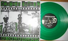 "Limited Edition 10"" Green Vinyl + Poster Crushed Butler ‎– Uncrushed KBD oi punk"