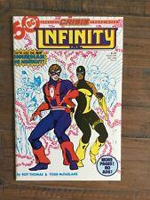 Infinity Inc (1984) # 21 NM-  1st App Hourman II And Dr. Midnight II. Key Issue