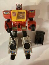 Hasbro Transformers Titans Return Leader Class Blaster Loose Used