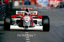 Mika Hakkinen McLaren MP4/10 Monaco Grand Prix 1995 Photograph