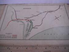 FERRYHILL DEESIDE KITTYBREWSTER WOODSIDE ABERDEEN TRAMWAY RAILWAY MAP C 1899