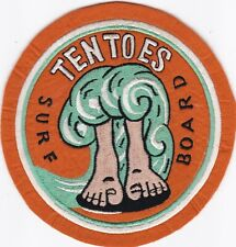 Tentoes Surfboard Surf Surfing Felt Patch S-12 1