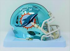 Ricky Williams Signed Miami Dolphins Chrome Speed Mini JSA Authenticated
