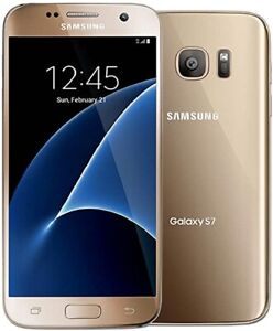 Samsung S7 - 32GB - Gold (Unlocked)- Excellent Condition