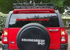 UN-PAINTED-PRIMER REAR HATCH WING SPOILER FOR 2006-2010 HUMMER H3 SUV
