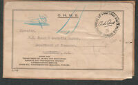 Canada 1931 mailing label Department of Mines and Resources Ottawa to Wash DC