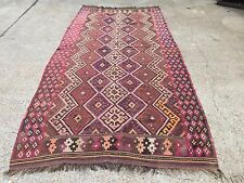 £2500 Liberty Antique Persian Kilim, kelim, country house boho vintage rustic