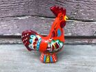 "VTG 3.25"" SWEDISH DALA ROOSTER Olsson Red Painted Chicken Sweden"