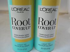 LOreal  Hair Color Root Cover Up , Light to Medium Blonde, 2oz each (2pk bundle)