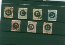 Indonesia - Netherlands Indies -Official Stamps - Catalogue Value GBP 140
