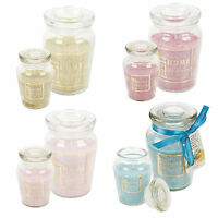 Scented Fragrance Candles Airtight Glass Jar Pot Wax Large Or Small Decor Xmas