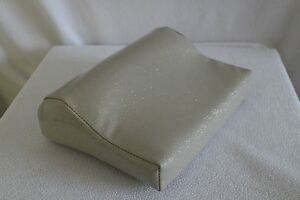 """GOODMAN SPECIALTY PILLOWS #303 3"""" """"METALLIC"""" TANNING BED PILLOW - SPARKLY SILVER"""