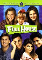 Full House: The Complete Fifth Season (Season 5) (4 Disc) DVD NEW