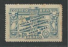 BRAZIL # C48 Mint SOUTHERN CROSS & ARMS OF PARAGUAY