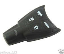 SAAB 9-3 9-5 Remote key fob case with 4 buttons higher quality rubber button