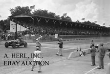 Indianapolis 500 1938 Indy 500 Floyd Roberts winning automobile racing photo