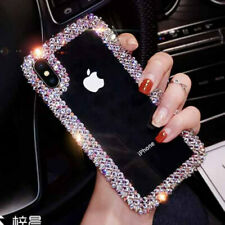 Cute Bling Crystal Clear shockproof Phone Case For iPhone XS Max XR  8 7 6S Plus