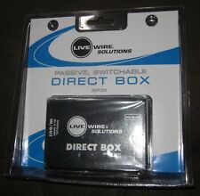 Live Wire Solutions Passive Switchable DIRECT BOX SPDI Brand NEW